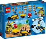 Construction Bulldozer back of the box