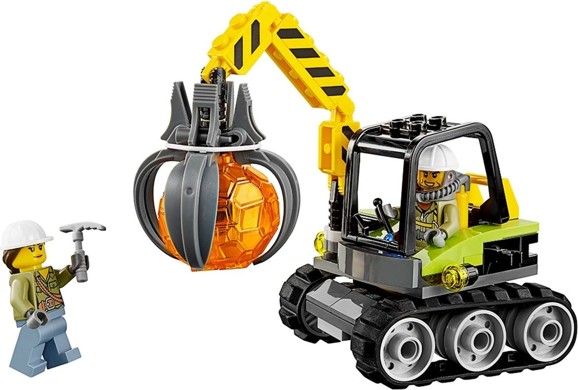 LEGO® City Volcano Supply Helicopter components