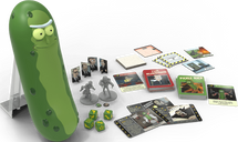 Rick and Morty: The Pickle Rick Game components