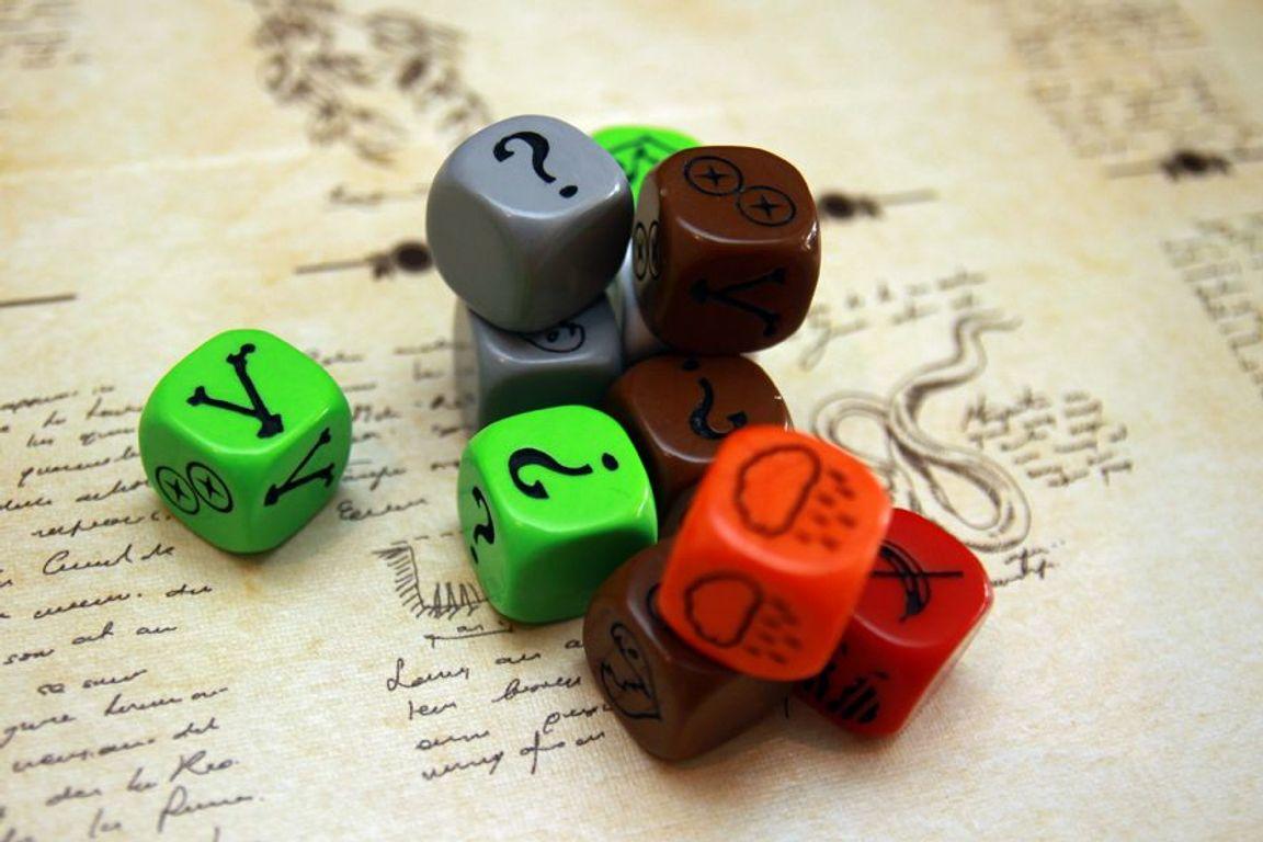 Robinson Crusoe: Adventures on the Cursed Island dice