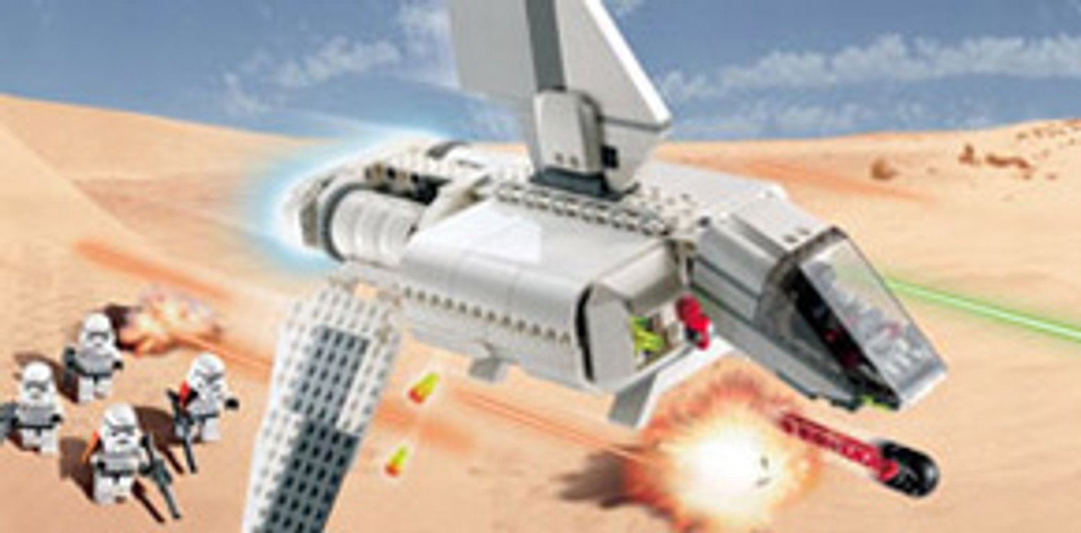 LEGO® Star Wars Imperial Landing Craft gameplay