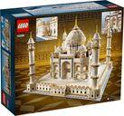 Taj Mahal back of the box