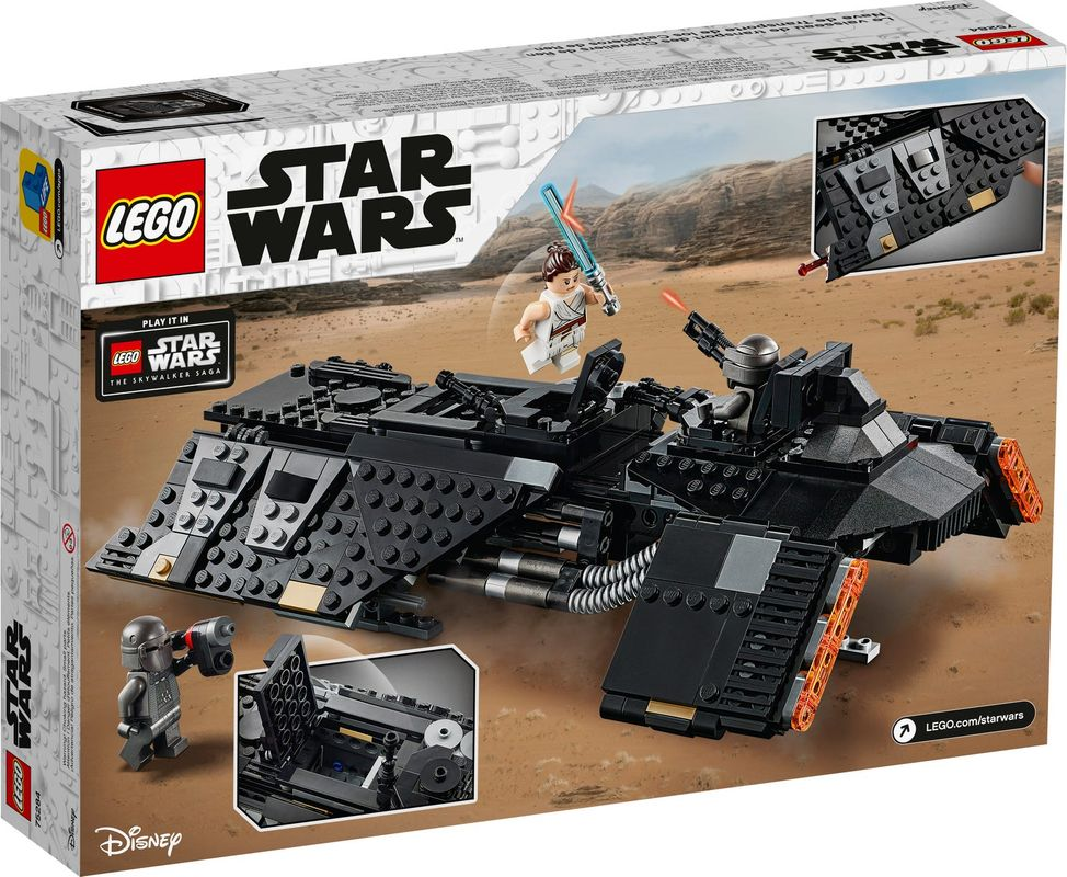 Knights of Ren™ Transport Ship back of the box