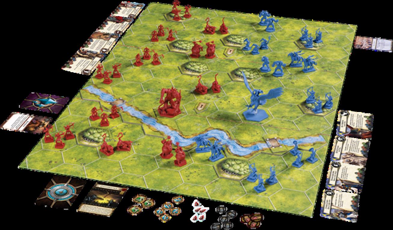 BattleLore: Second edition components