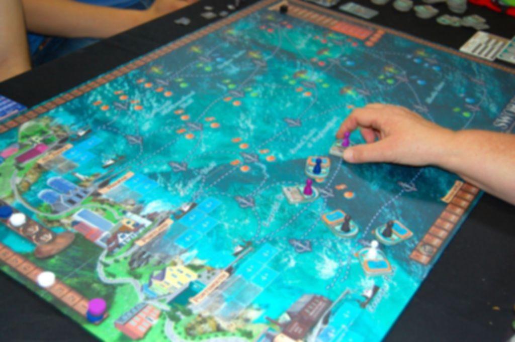 Swordfish gameplay