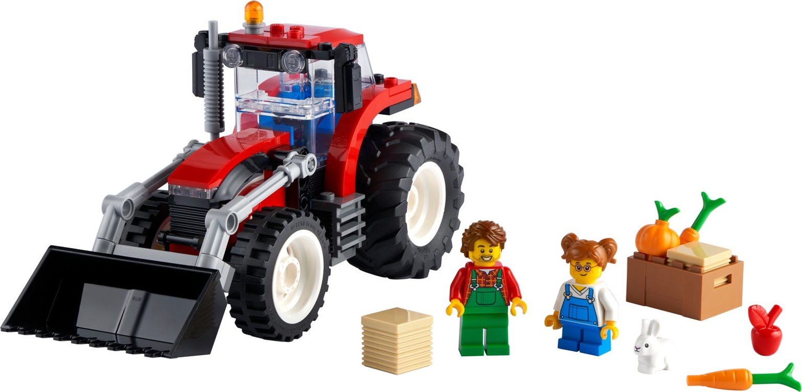 LEGO® City Tractor components