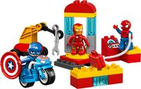 LEGO® DUPLO® Super Heroes Lab components