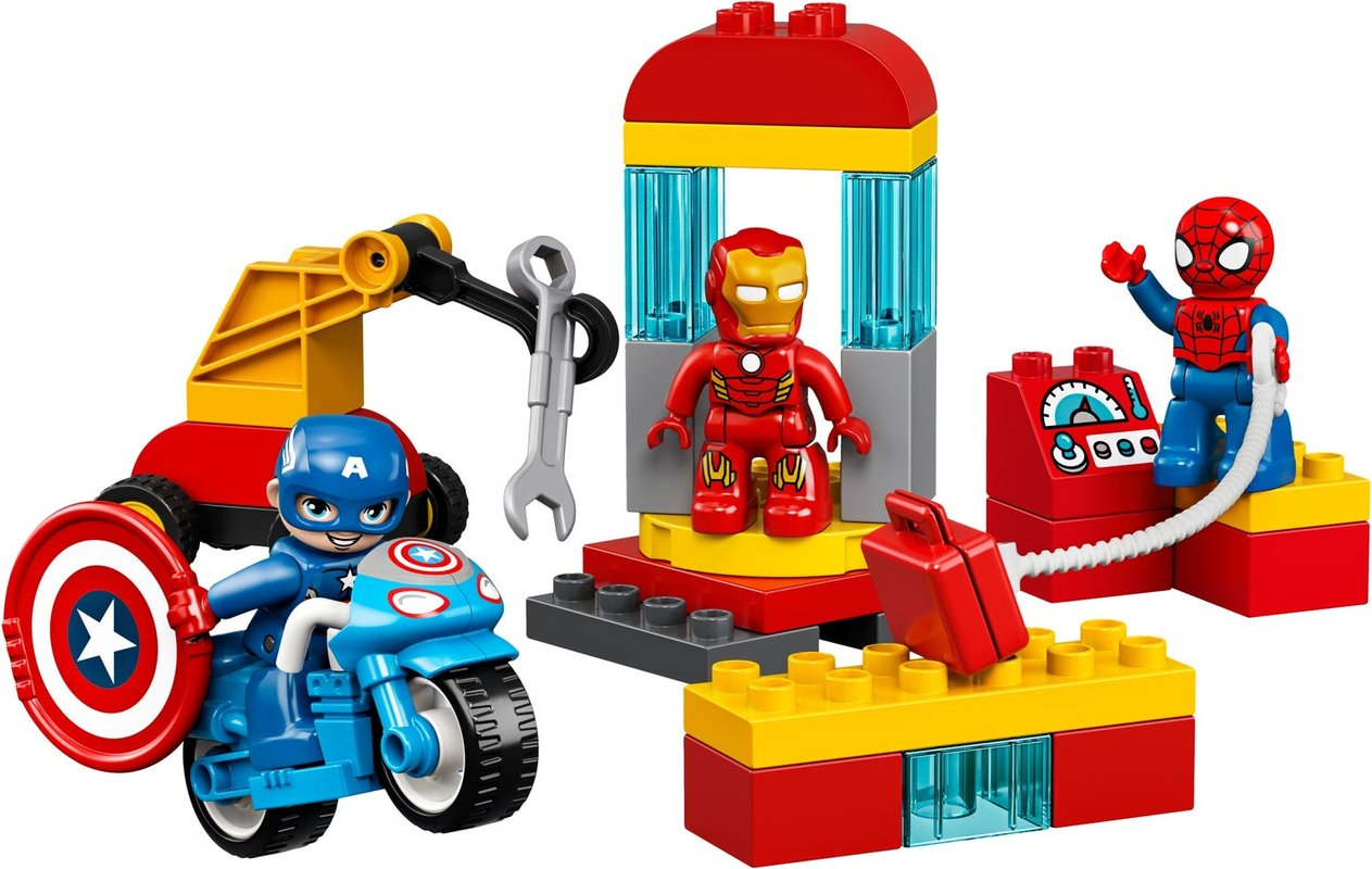 Super Heroes Lab components