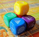 Ra: The Dice Game components