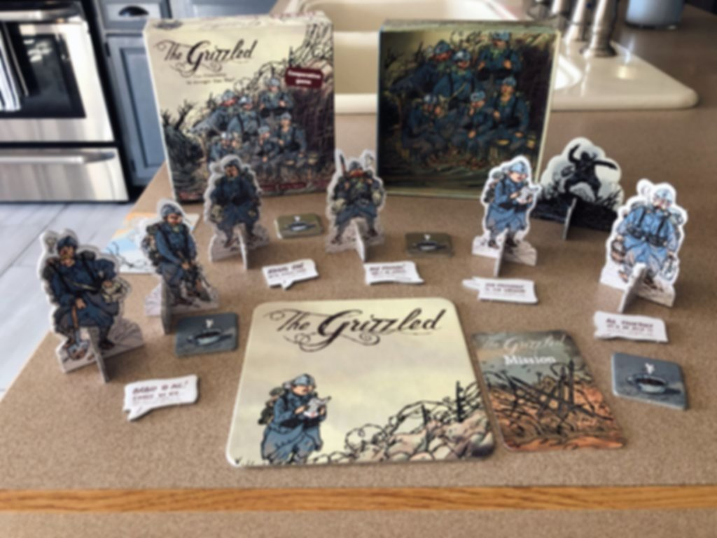 The Grizzled: At Your Orders! components