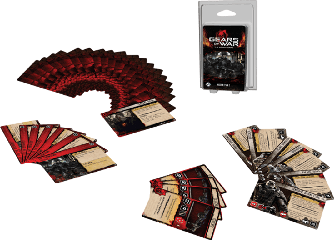 Gears of War: Mission Pack 1 components