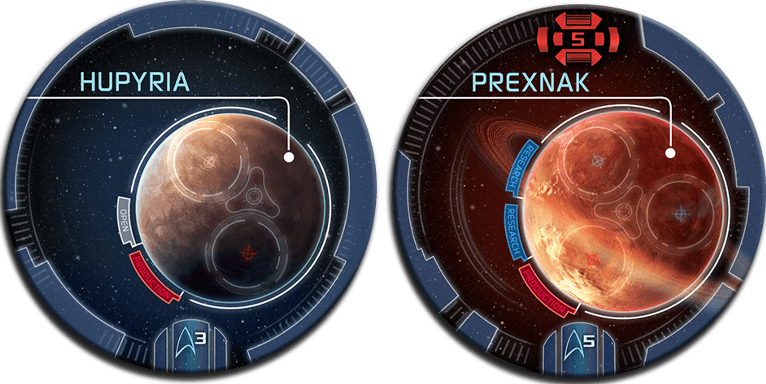 Star Trek: Ascendancy - Ferengi Alliance planets