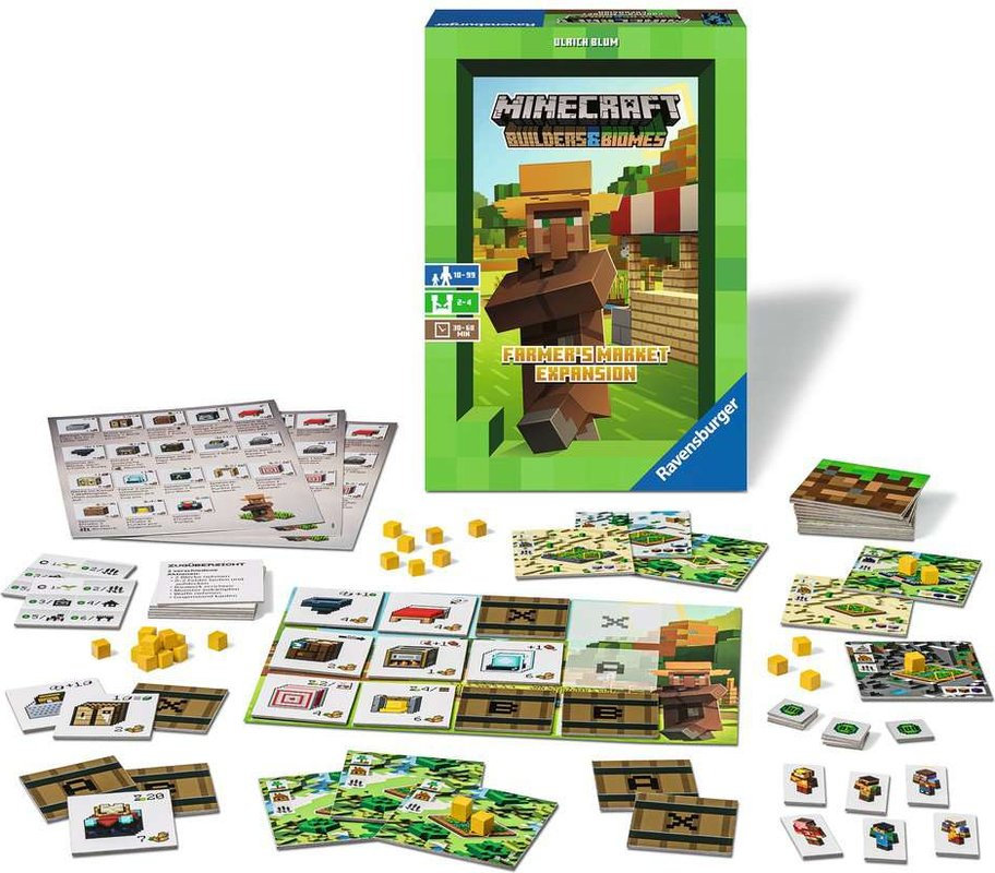 Minecraft: Farmer's Market Expansion componenti
