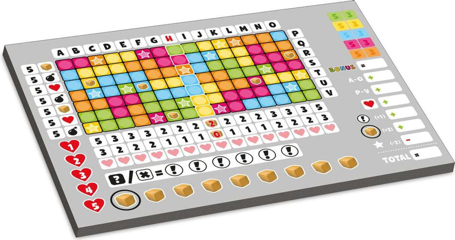 Bravo! game board