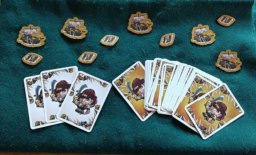 Imperial Settlers: Empires of the North – Barbarian Hordes components