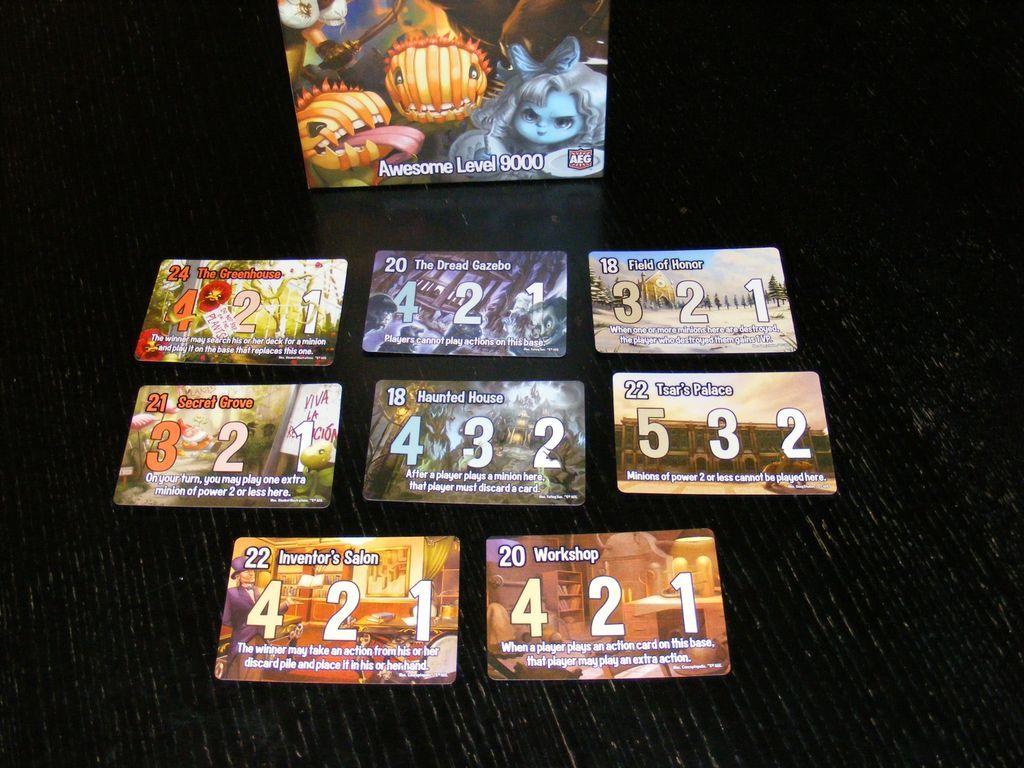 Smash Up: Awesome Level 9000 cards