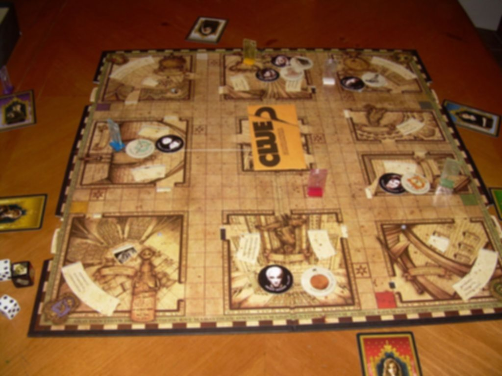 Clue: Harry Potter Edition gameplay
