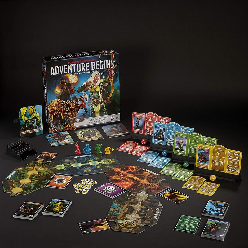 Dungeons & Dragons: Adventure Begins composants