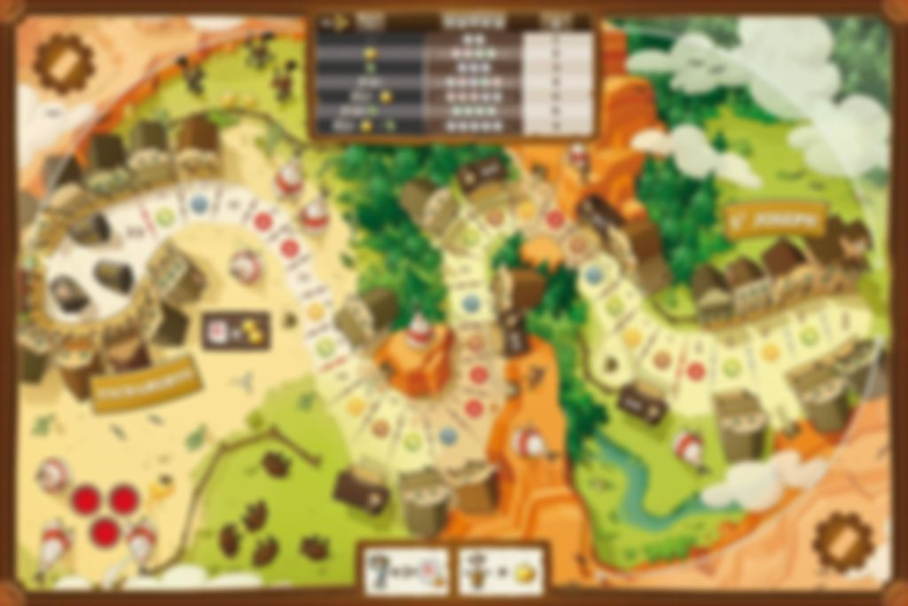 Pony Express game board