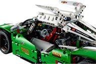 24 Hours Race Car interior