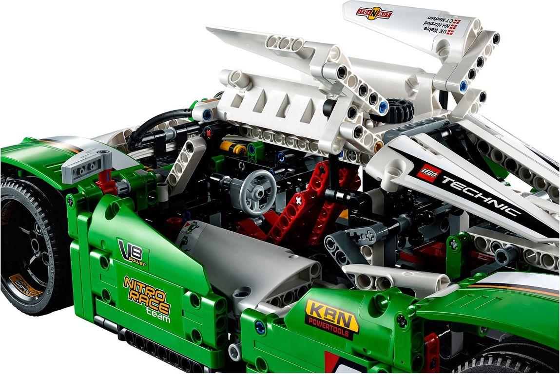 LEGO® Technic 24 Hours Race Car interior