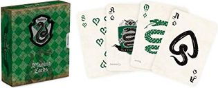 Harry Potter Slytherin House Playing Cards cards