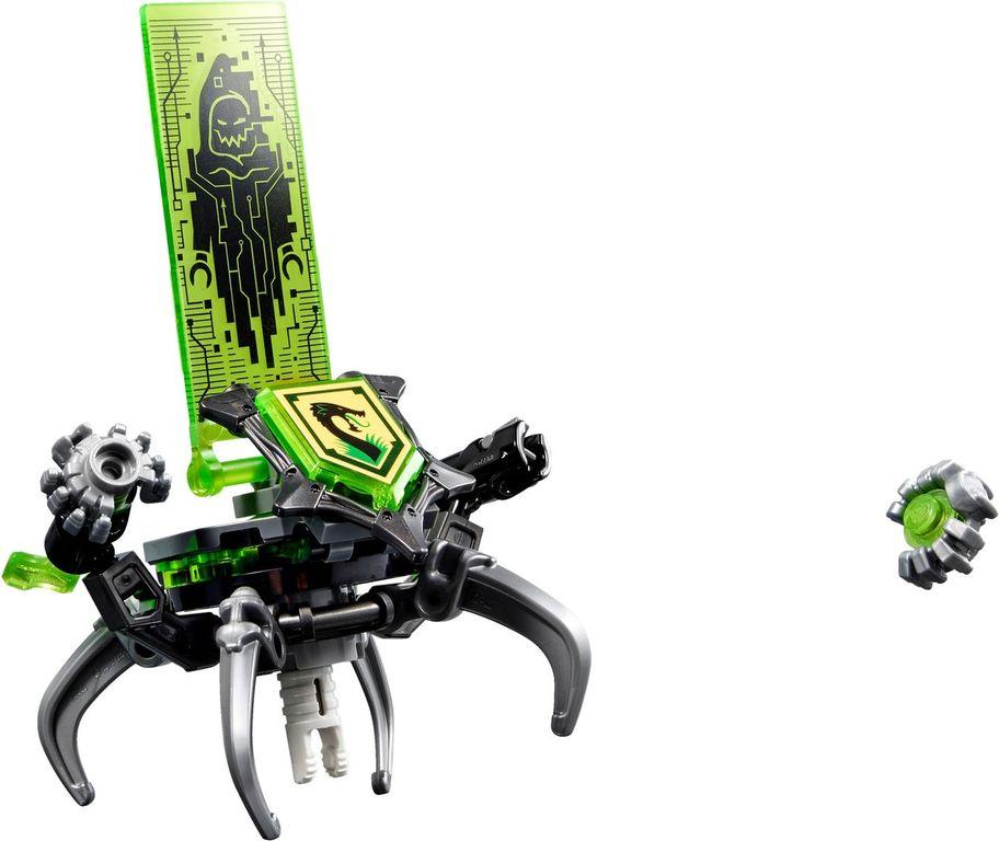 LEGO® Nexo Knights Tech Wizard Showdown components