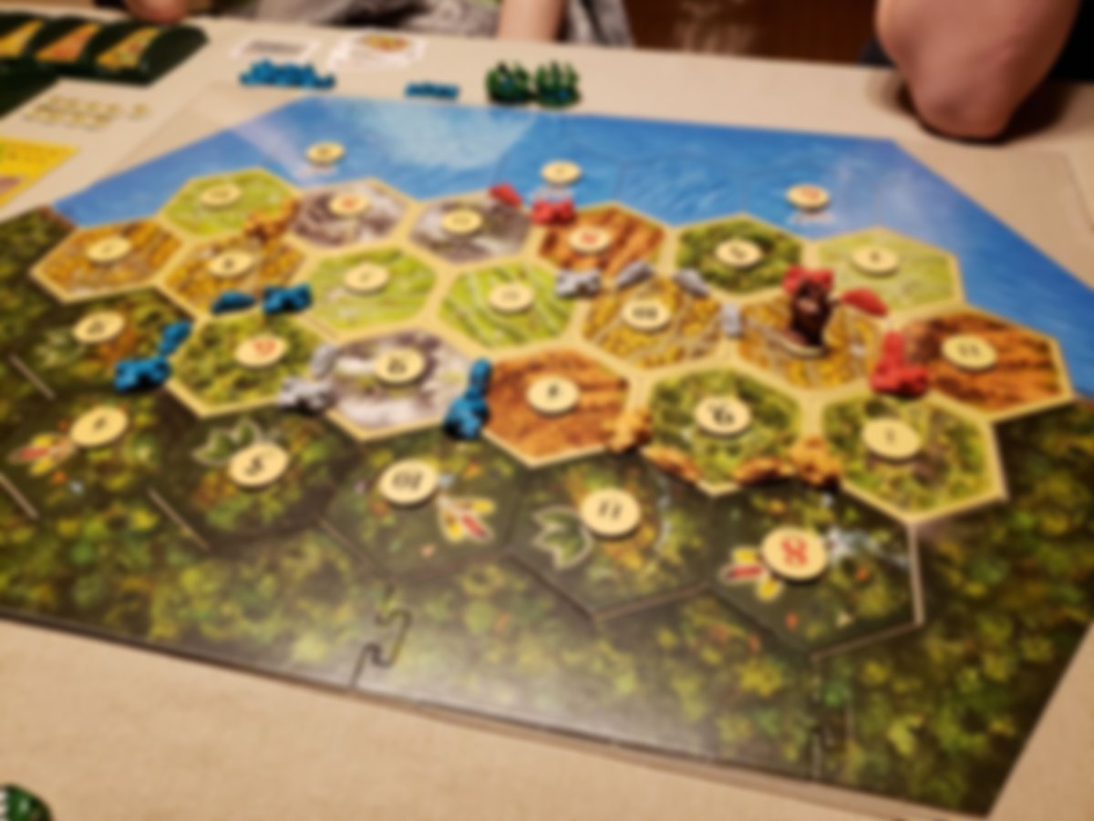 Catan Histories: Rise of the Inkas gameplay