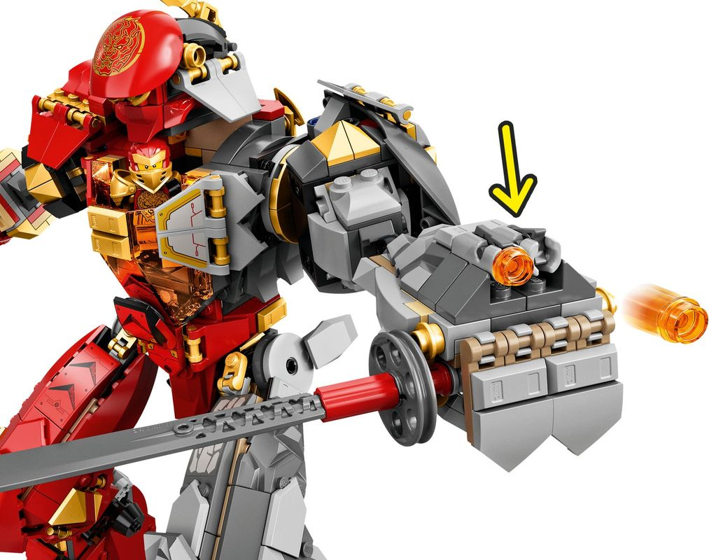 Fire Stone Mech components