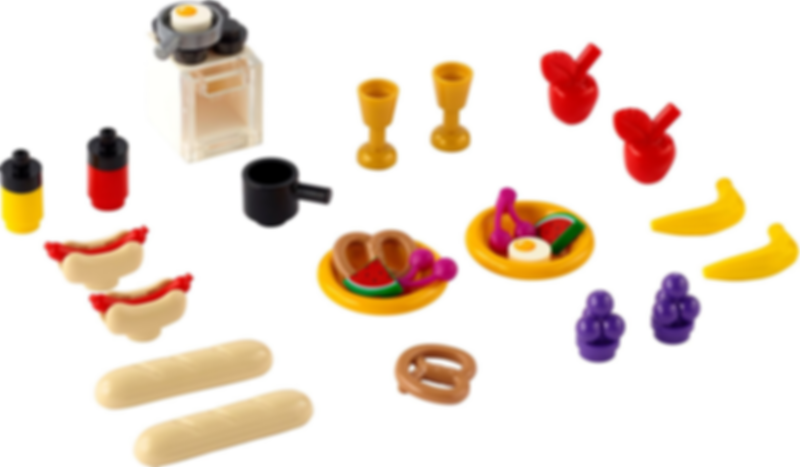 LEGO® Xtra xtra Food components