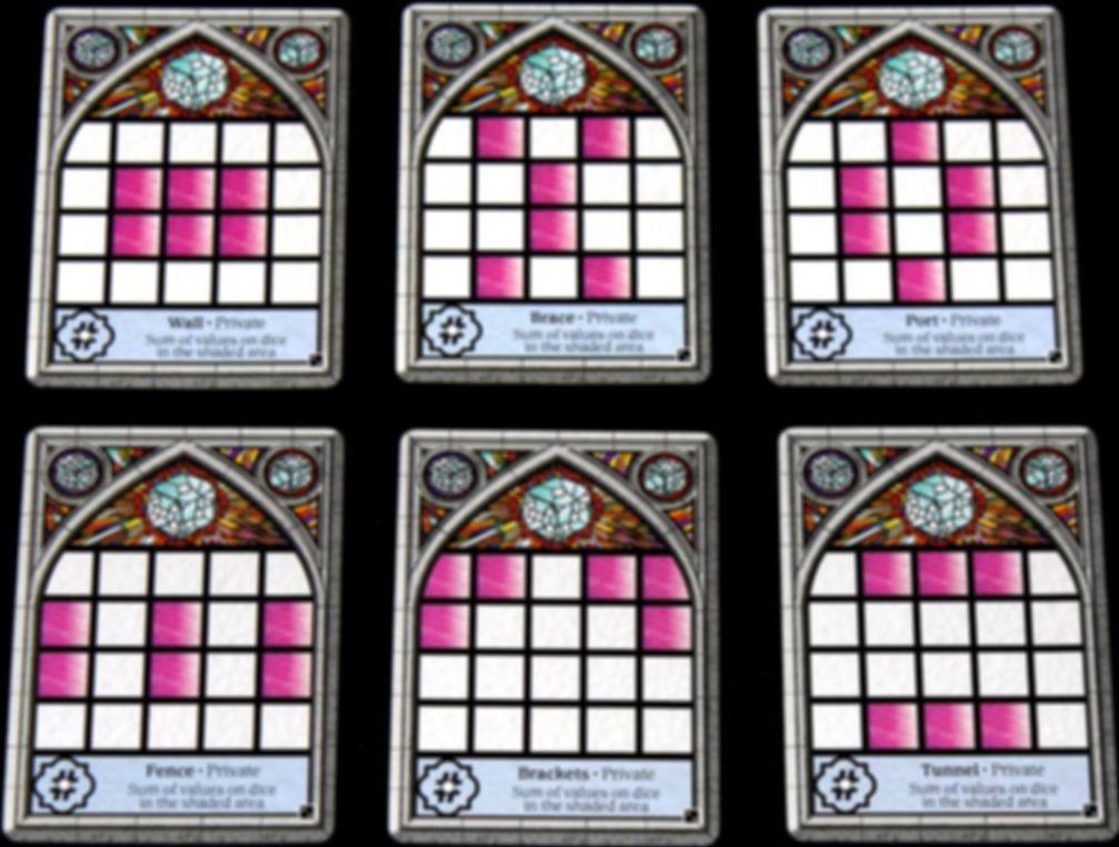 Sagrada: 5 & 6 Player Expansion game board