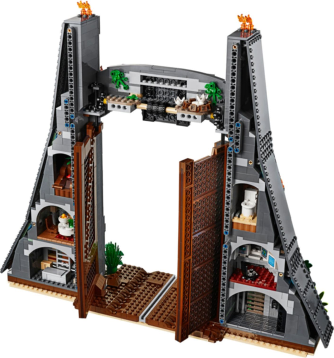 LEGO® Jurassic World Jurassic Park: T. rex Rampage components