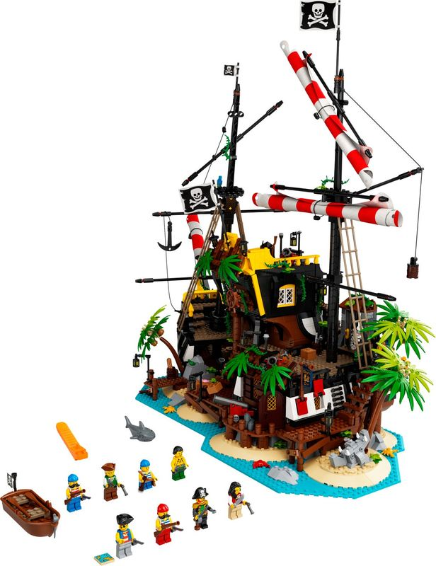 Pirates of Barracuda Bay components