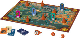 Raya's Journey: an Enchanted Forest components
