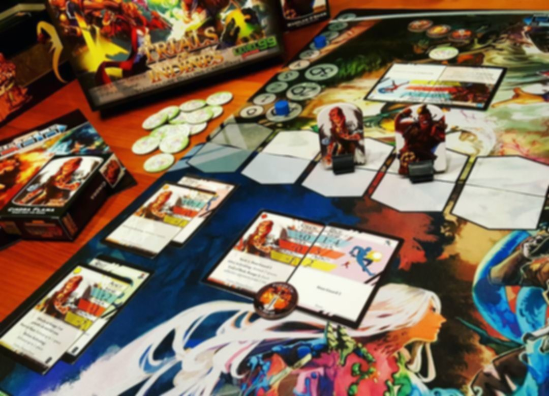 BattleCON: Trials of Indines components
