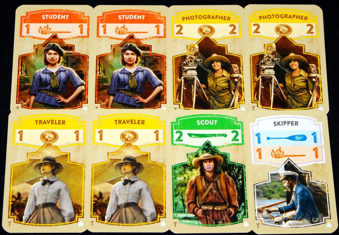The Quest for El Dorado: The Golden Temples cards