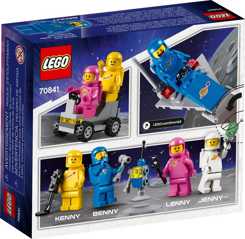 LEGO® Movie Benny's Space Squad back of the box