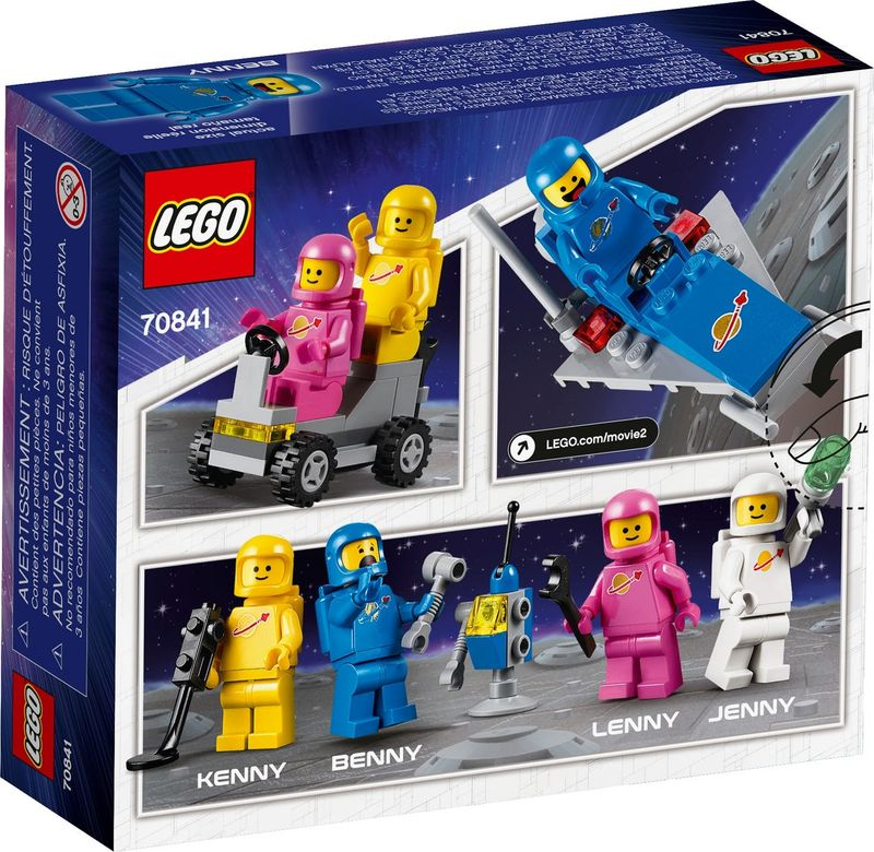 Benny's Space Squad back of the box