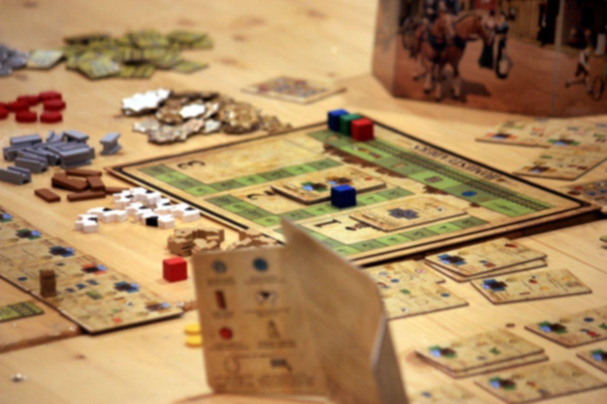Homesteaders gameplay