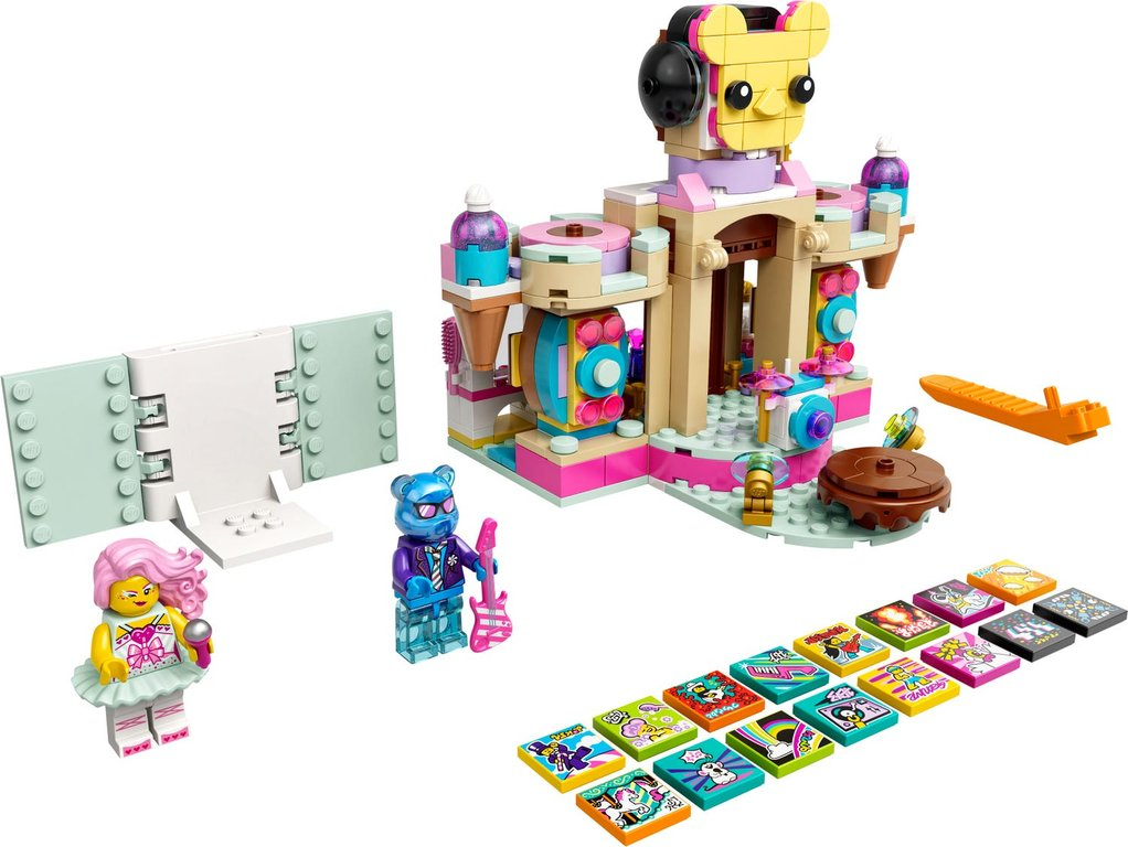 LEGO® VIDIYO™ Candy Castle Stage components