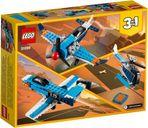 LEGO® Creator Propeller Plane back of the box