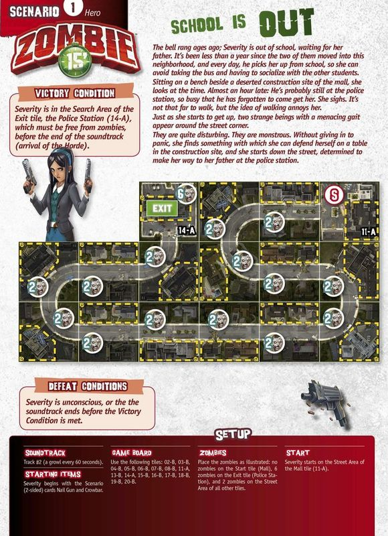 Zombie 15': Left Alone manual
