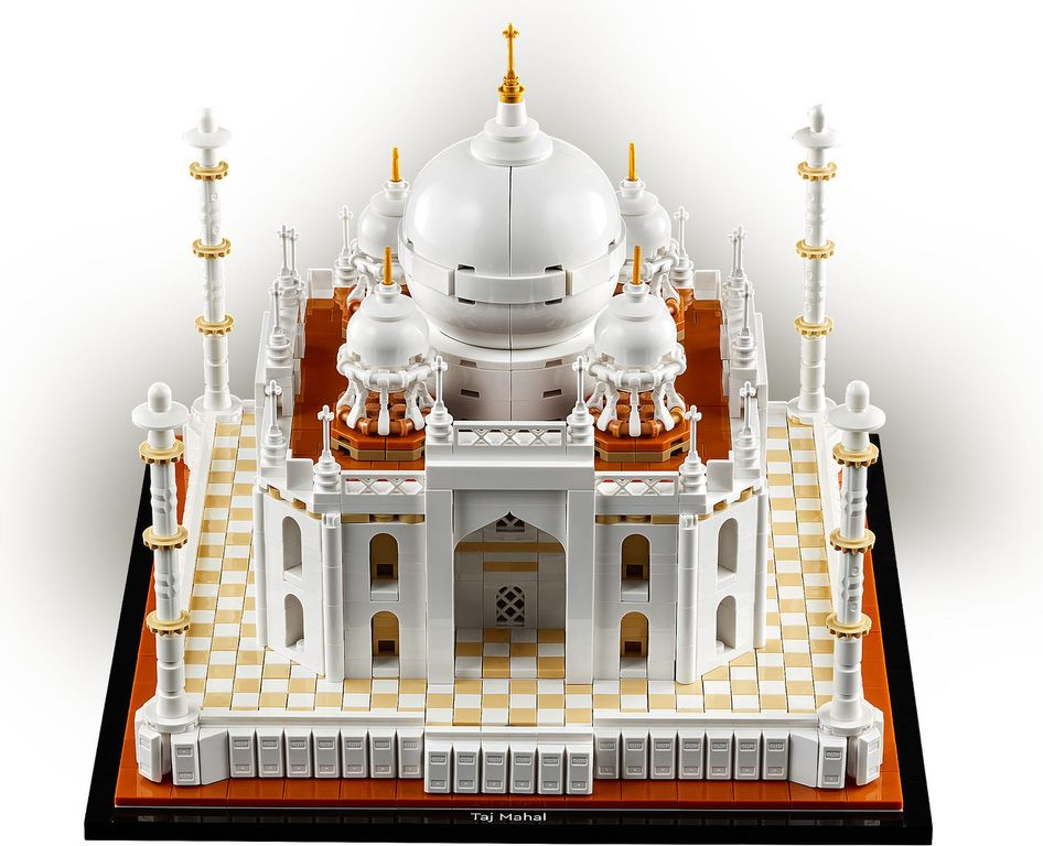 LEGO® Architecture Taj Mahal components