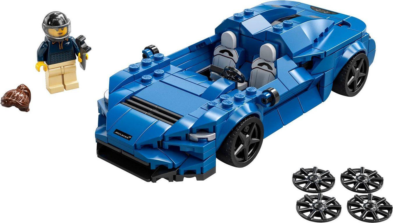 LEGO® Speed Champions McLaren Elva components