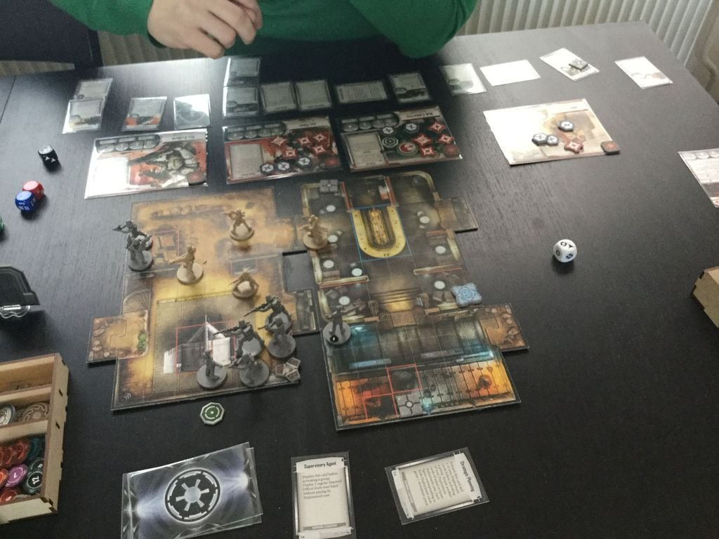 Star Wars: Imperial Assault - Twin Shadows gameplay