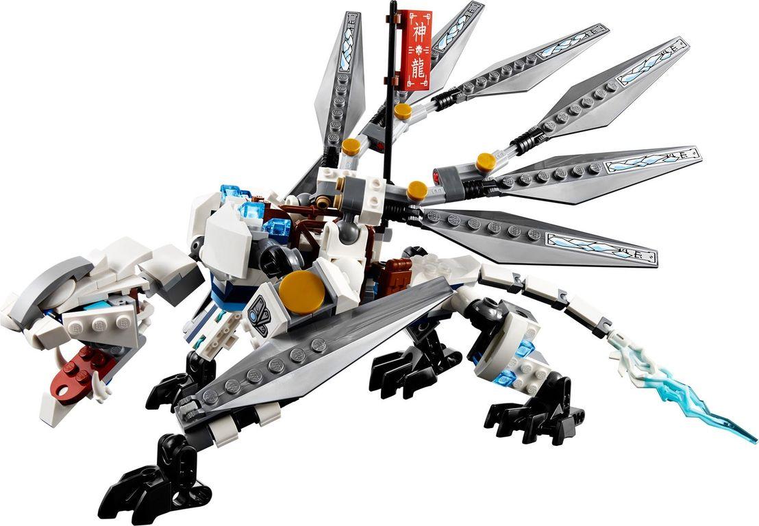 LEGO® Ninjago Titanium Dragon components