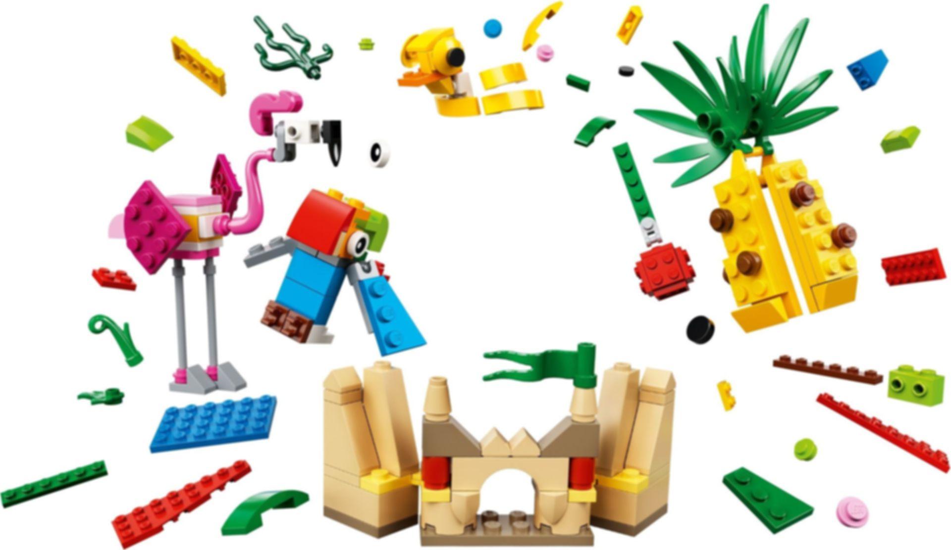 Creative Fun 12-in-1 components