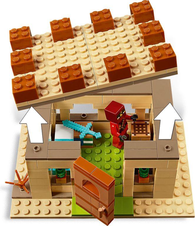 LEGO® Minecraft The Illager Raid interior