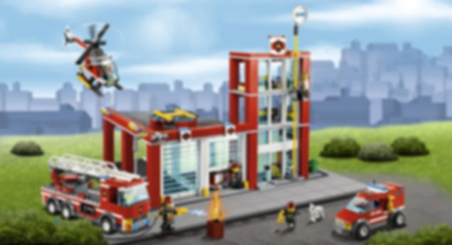 LEGO® City Fire Station gameplay
