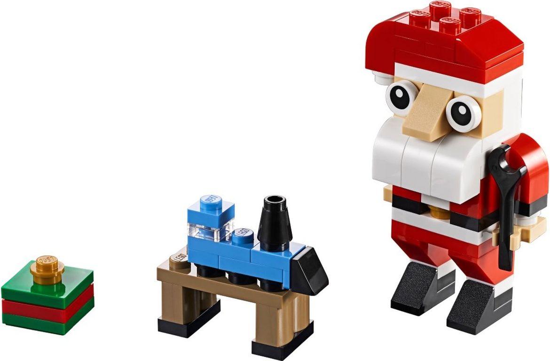 LEGO® Creator Santa Claus (polybag) components